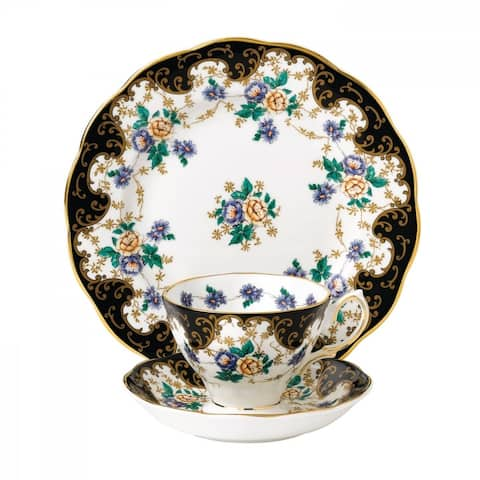 100 Years of Royal Albert Duchess 3-piece Place Setting