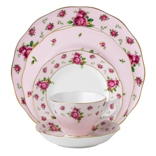 New Country Roses Pink 5-piece Place Setting