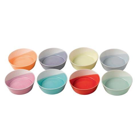 1815 Mixed Patterns 4.7-inch Tapas Bowls, Set of 8