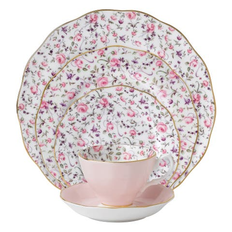Rose Confetti 5-piece Place Setting