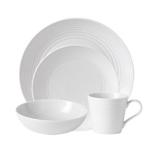 Link to Maze White 4-Piece Place Setting Similar Items in Dinnerware