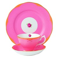 Candy Sweet Stripe 3-piece Place Setting