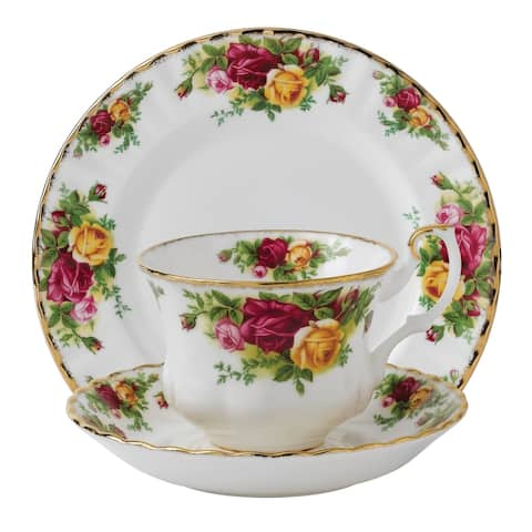 Old Country Roses 3-piece Place Setting