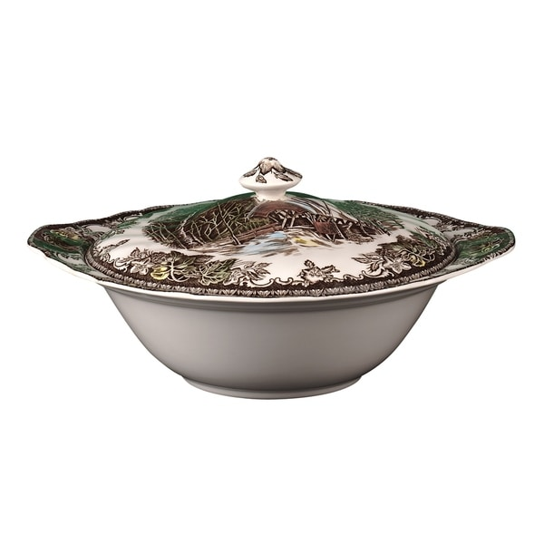 Friendly Village Covered Vegetable Bowl. Opens flyout.