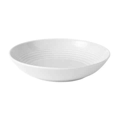 Maze Blue 24-ounce Open Vegetable/Pasta Bowl