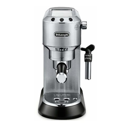 DeLonghi Dedica Deluxe Manual Espresso Machine (Stainless)