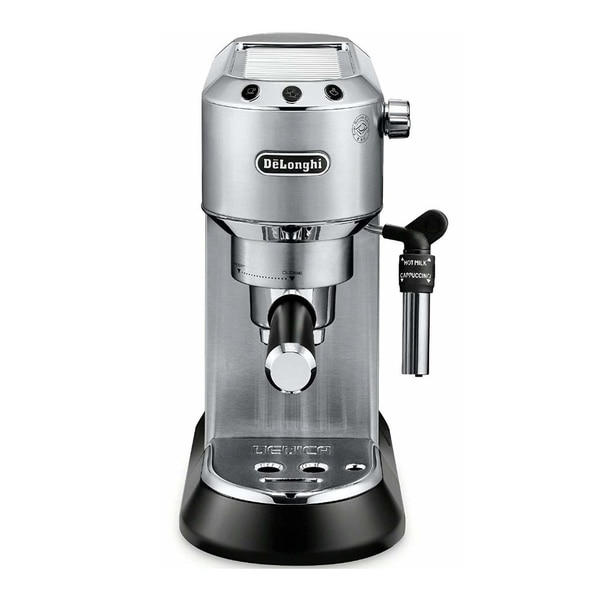 DeLonghi Dedica Deluxe Manual Espresso Machine (Stainless). Opens flyout.