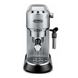 DeLonghi Dedica Deluxe Manual Espresso Machine (Stainless)