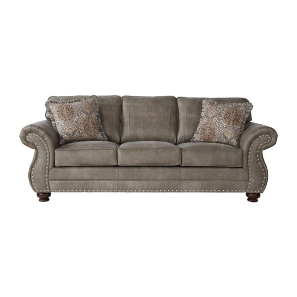 Leinster Faux Leather Upholstered