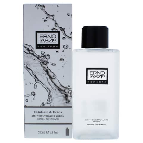 Exfoliate and Detox Light Controlling Lotion Erno Laszlo for Unisex 6.8-ounce Lotion