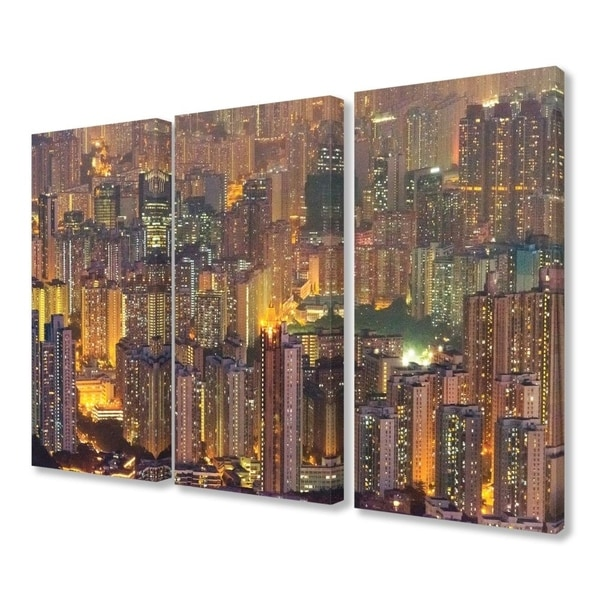 Shop The Stupell Home Decor Collection Aerial View Of Hong