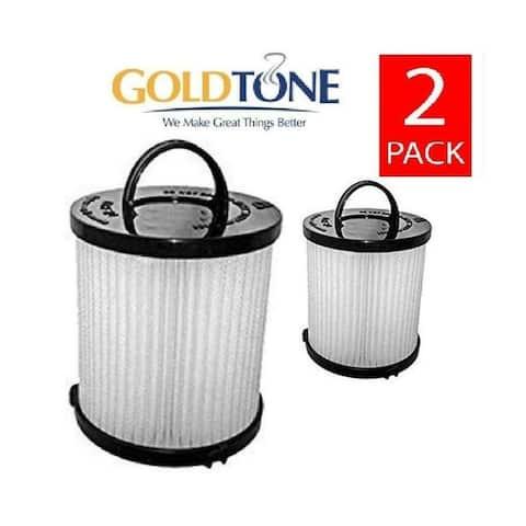 Replacement Allergen Vacuum Filter Fits Eureka DCF-21. GoldTone