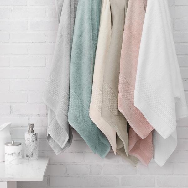 Porch & Den Lois Organic Cotton 6-piece Towel Set. Opens flyout.