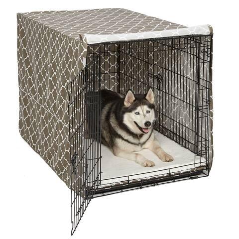 QuietTime Defender Covella Dog Crate Cover