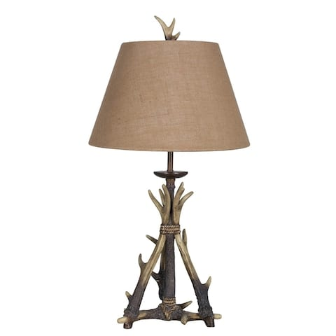 "Lamps Per Se` 31"" Antler Table Lamp Set - 31"