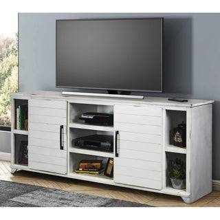 Shop Liberty Oyster White Tv Stand On Sale Free