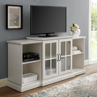 "Copper Grove 60"" Tiered 2-Door TV Stand Console - 60 x 16 x 28H"