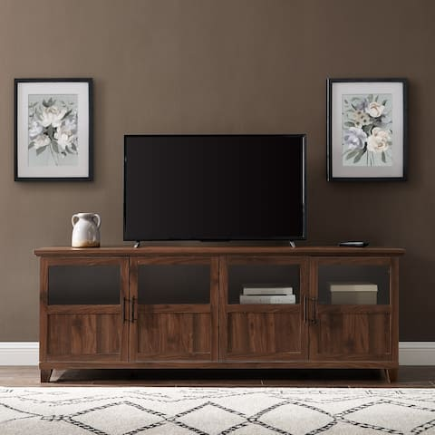 "The Gray Barn 70"" 4-Door TV Stand Console - 70 x 16 x 25H"
