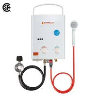 Camplux 5L 1.32 GPM Outdoor Portable Tankless Water Heater