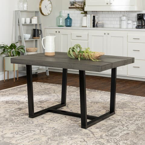 Carbon Loft 52-inch Distressed Wood Dining Table