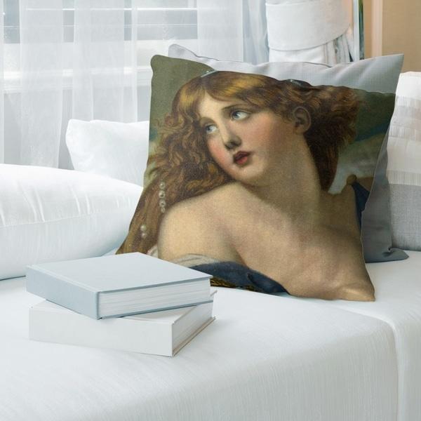 Porch & Den Jean-Baptiste Greuze 'Psyche' Throw Pillow