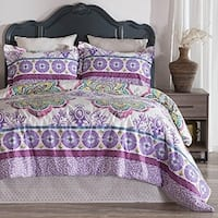 Porch & Den Gemini Full/ Queen-size Cotton 3-piece Comforter Set