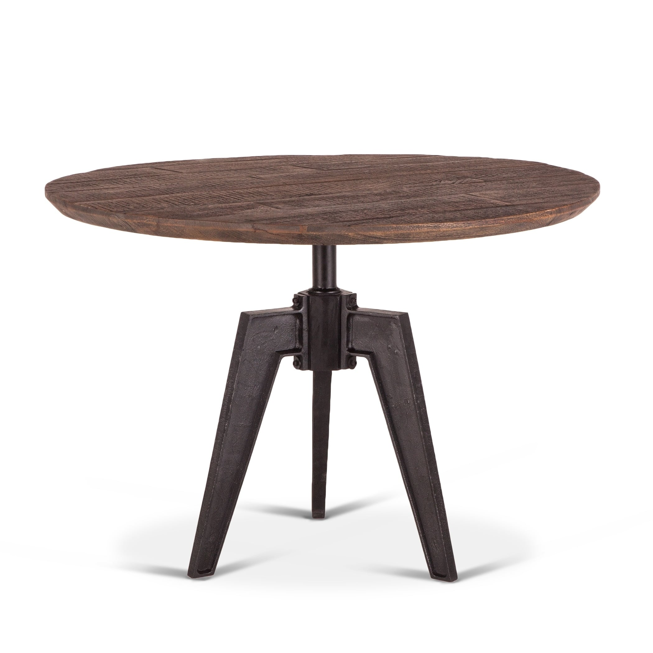 Dining Table With Cast Iron Base