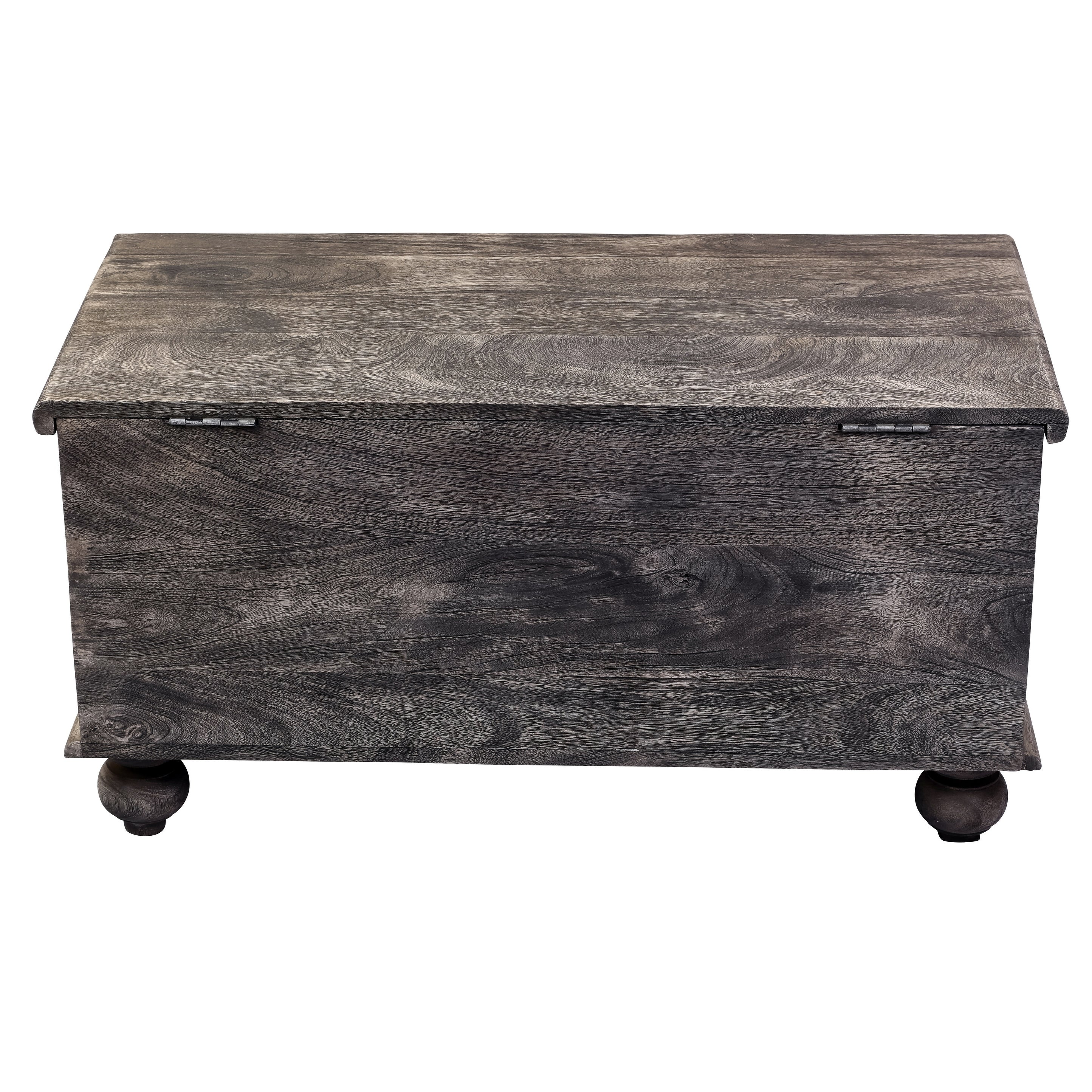 Tremendous Leela Handcarved Medallion Storage Trunk Coffee Table Gray Squirreltailoven Fun Painted Chair Ideas Images Squirreltailovenorg