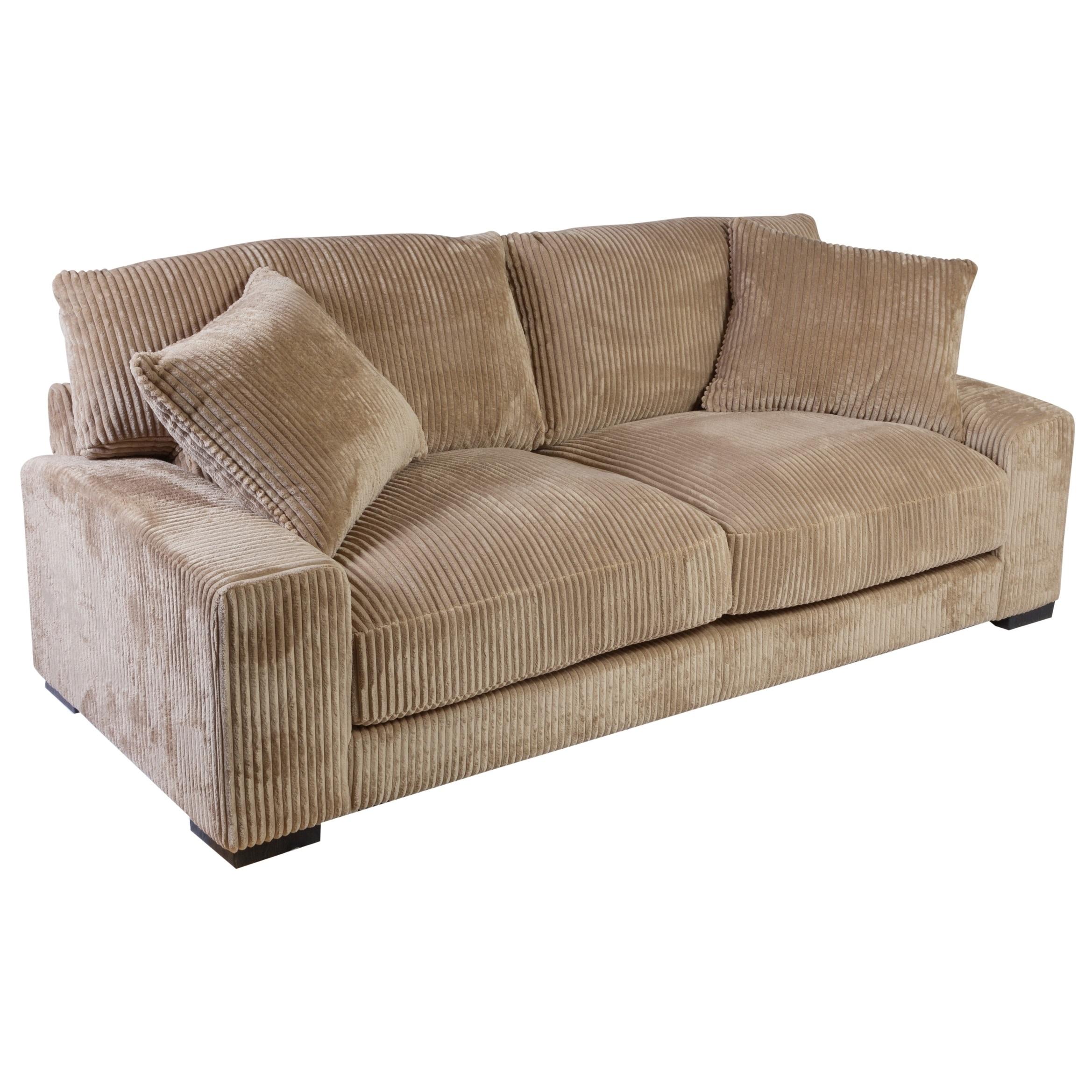 Chill Microfiber Sofa Brown