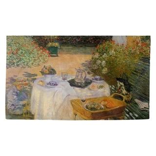 Porch & Den Claude Monet 'The Luncheon' Dobby Rug