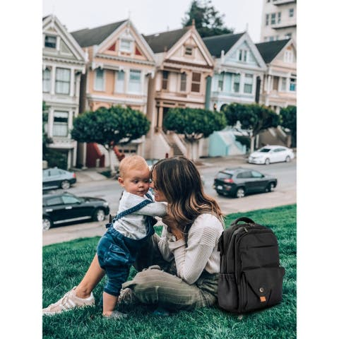 Waterproof Baby Diaper Bag with Changing Mat