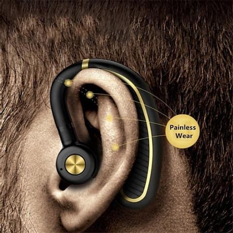 Wireless Bluetooth V4.1 Headset Stereo Earphone with Mic Sport Bluetooth HiFi Headphones Heavy Bass Hands Free