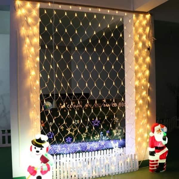 192 Led Net Grid String Light Decorate