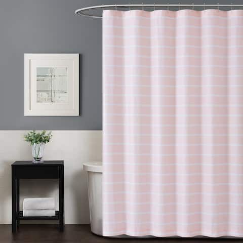 Truly Soft Maddow Stripe Shower Curtain