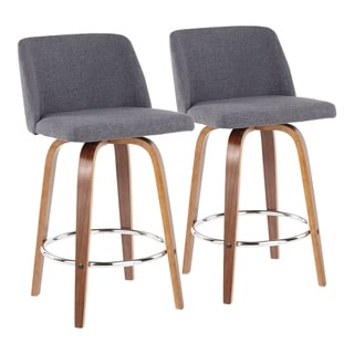 Link to Carson Carrington Vallberga Upholstered Counter Stool (Set of 2) - N/A Similar Items in Dining Room & Bar Furniture