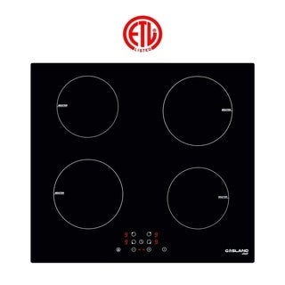 """Gasland Chef IH60BF 24"""" Built-in Induction Cooker, Vitro Ceramic Surface Electric Cooktop, 4 Burners, ETL"""