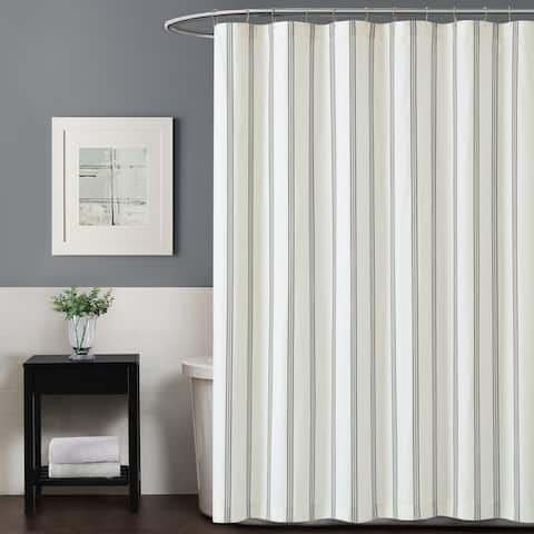 Truly Soft Millennial Stripe Shower Curtain