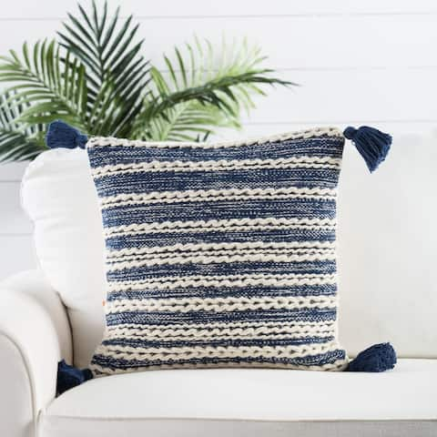Nikki Chu by Jaipur Living Taviers Stripes Throw Pillow 18 inch