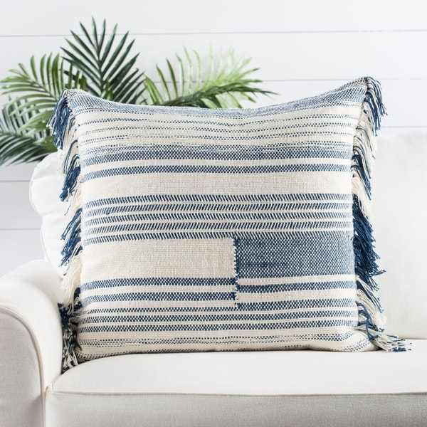 Nikki Chu by Jaipur Living Bonsai Stripes Throw Pillow 24X24 inch. Opens flyout.