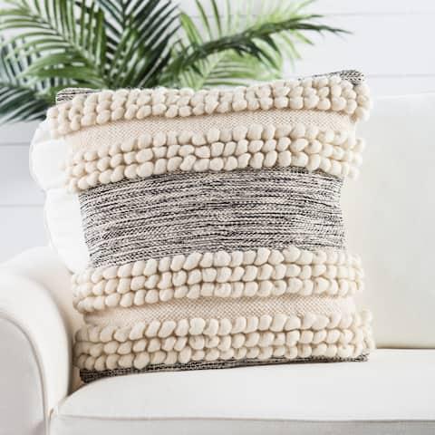Nikki Chu by Jaipur Living Baltic Stripes Throw Pillow 20 inch