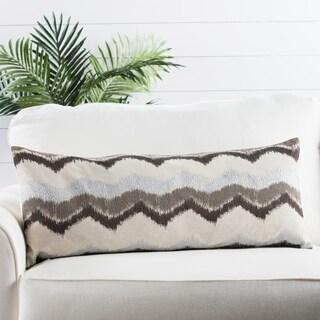 Nikki Chu by Jaipur Living Leamont Chevron Throw Pillow 14X33 inch