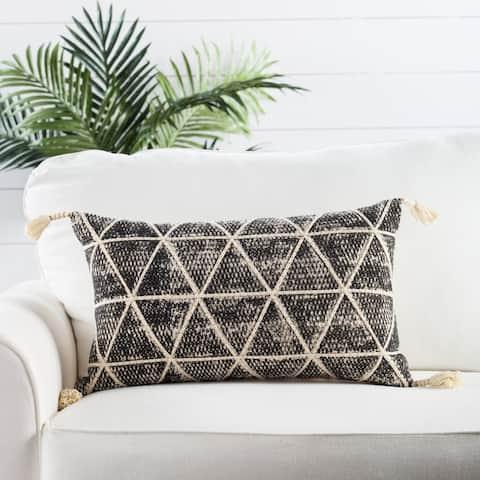 Nikki Chu by Jaipur Living Cordele Geometric Throw Pillow 14X24 inch