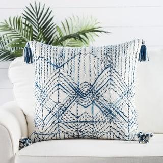 Nikki Chu by Jaipur Living Nyx Trellis Throw Pillow 22 inch