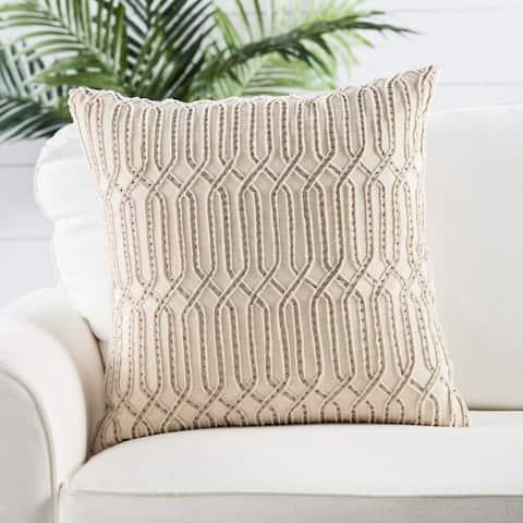 Nikki Chu by Jaipur Living Pisano Trellis Throw Pillow 20 inch