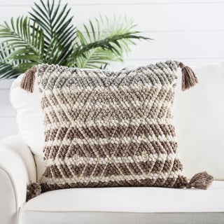 Nikki Chu by Jaipur Living Agave  Geometric Throw Pillow 20 inch