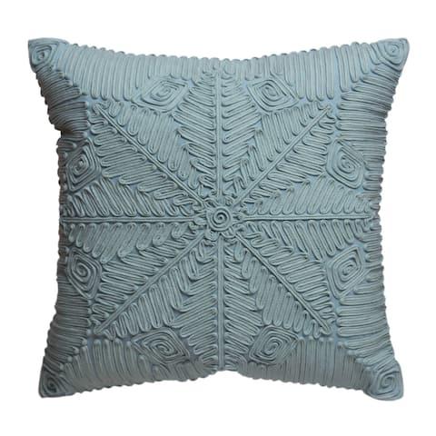 Porch & Den Elderberry Blue Throw Pillow