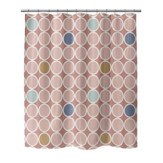 69 x 70 Shower Curtain Kess InHouse EBI Emporium Winter Dreamland 7 Orange Maroon