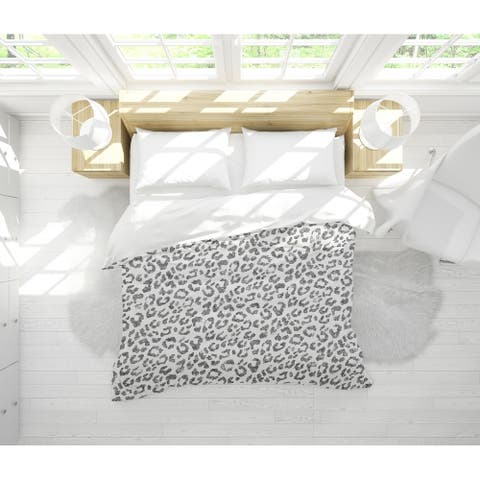 LIGHT LEOPARD Light Weight Comforter by Kavka Designs