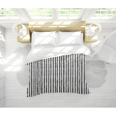 BAMBOO BLACK Light Weight Comforter By Tiffany Wong
