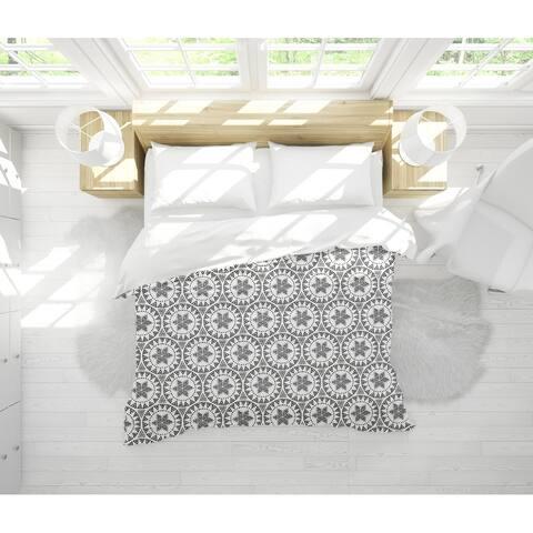 FREE SPIRIT BLACK Light Weight Comforter By Tiffany Wong